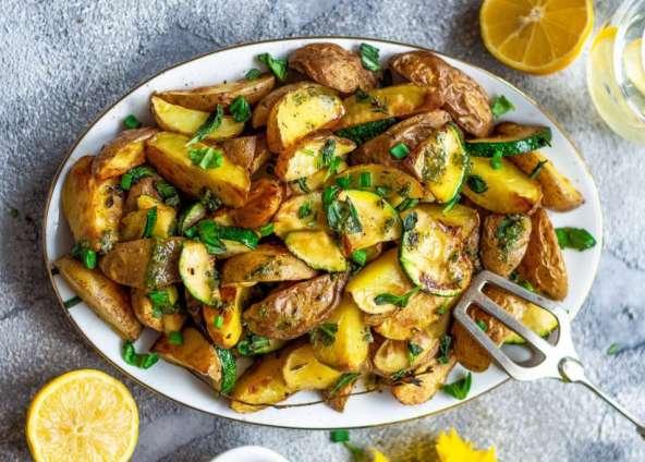 Bratkartoffel-Salat