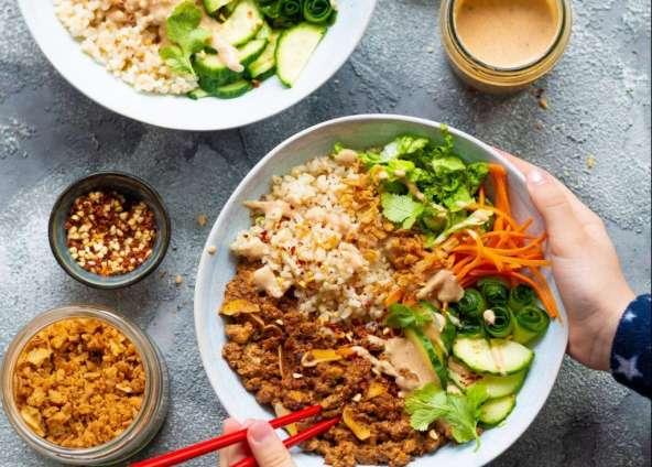 Vietnamesische Banh Mi Bowl