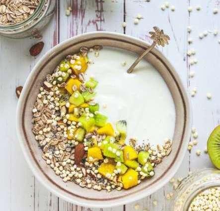 Vanille-Mango-Bowl