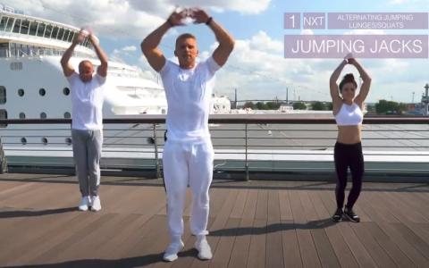 Jumping Jacks Kristofer