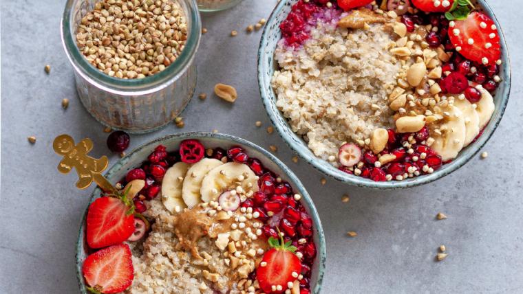Quinoa Vanille Porridge